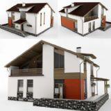 新的�e墅3D模型