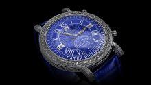 限量版百达翡丽-蓝色诱惑手表模型