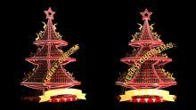 创意圣诞树3D模型