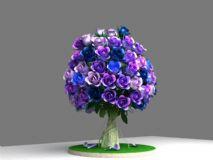 玫瑰树3D模型