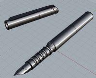 犀牛做的钢笔