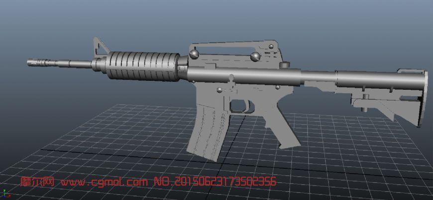 枪的模型 m4a1