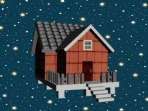 房子,一��小家