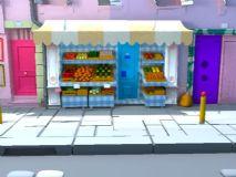 水果店obj模型