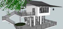 古典别墅su模型