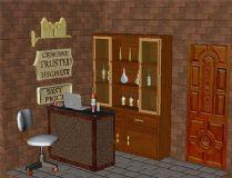 酒柜室内场景
