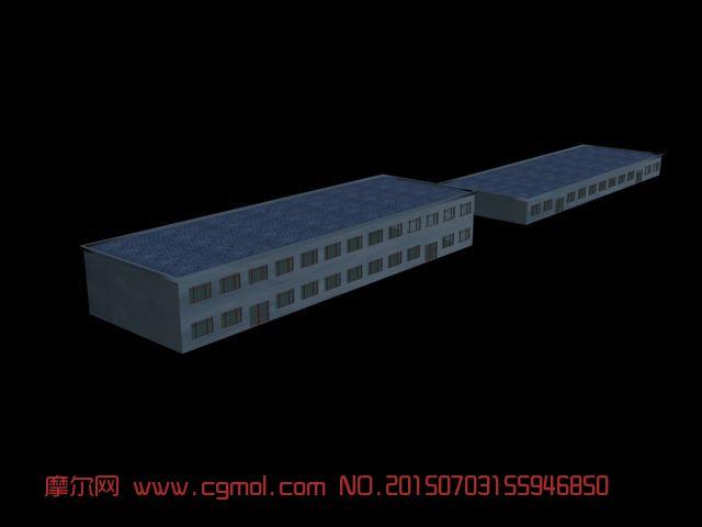 小楼简单模型