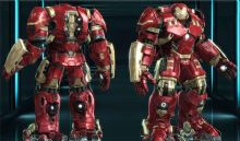 反浩克的钢铁侠升级版obj模型