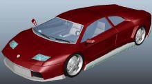 兰博基尼汽车模型