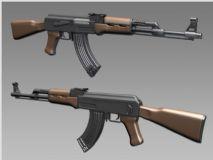 AK――47(无贴图)