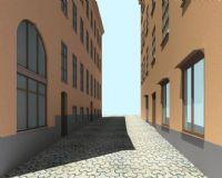 街道,场景模型
