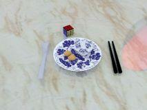 碗筷,魔方