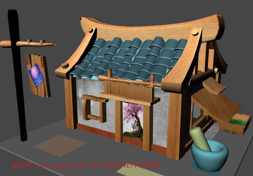 设计古代房子设计图展示