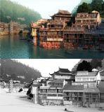 凤凰古城吊脚楼大型场景设计(带贴图,网盘下载)