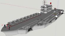 高端 霸气的军舰,航母