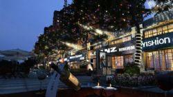 商业街夜景
