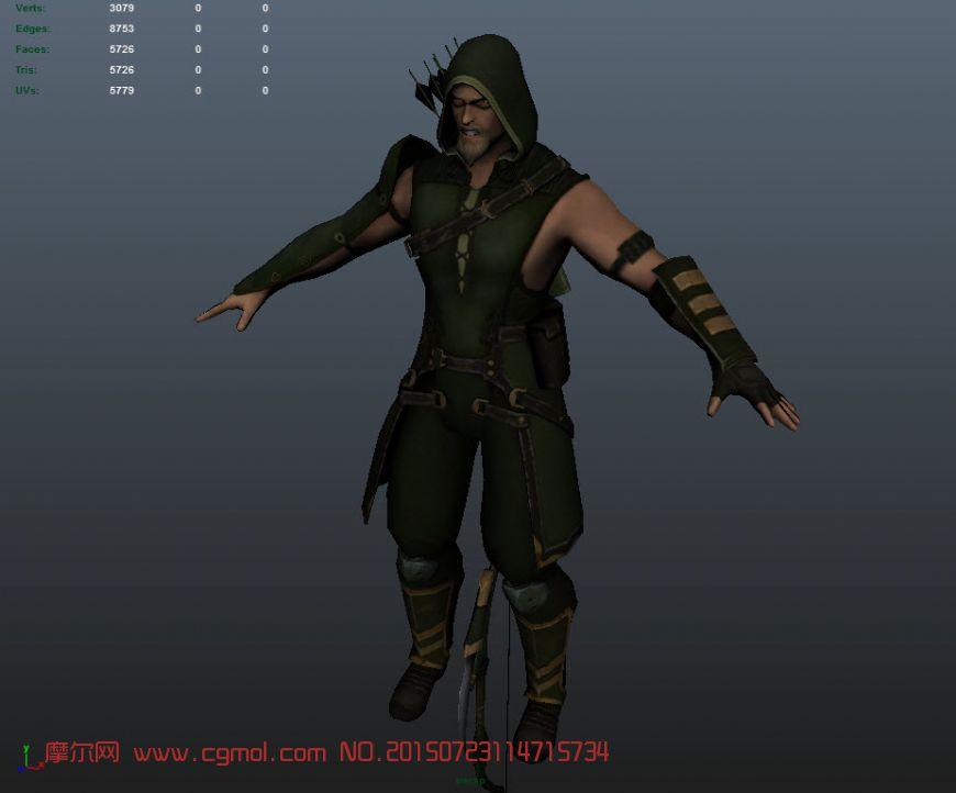 绿箭侠之超级英雄