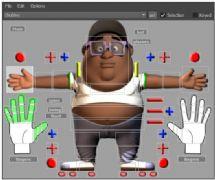 胖男孩maya模型