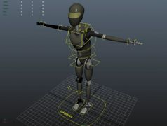 Sci-Fi忍者机器人