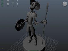 唐吉可德maya模型