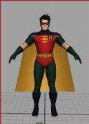 罗宾超人maya模型