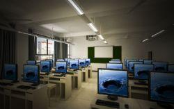 教室空间,无贴图