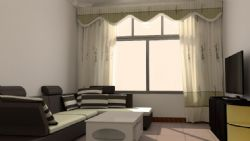 C4D室内模型
