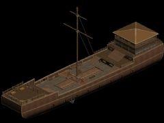 木船,古代船只,战船,船坞