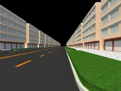 道路,街面建筑,街面改造