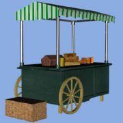 街头小品,小卖车,早餐车,杂货车,游戏
