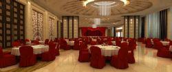 婚宴礼堂动画场景模型,包含材质灯光及镜头动画