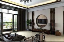 中式情怀客厅整体图