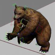 棕熊攻击,游戏