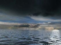 平静的大海