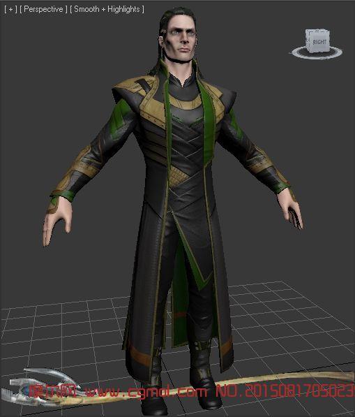 雷神之弟Loki洛奇