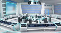 国际会议厅,未来时代感科技场景