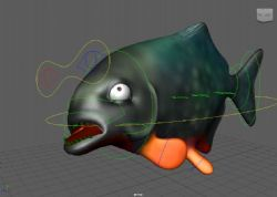 Fish Rigs - Piranah with textures