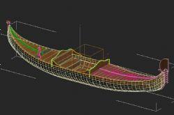小船3D模型