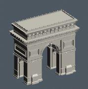 法国建筑大门