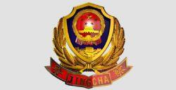 中国警徽_C4d模型