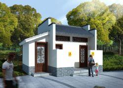 中式公厕所