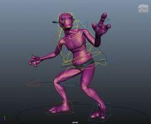 外星生物Maya模型
