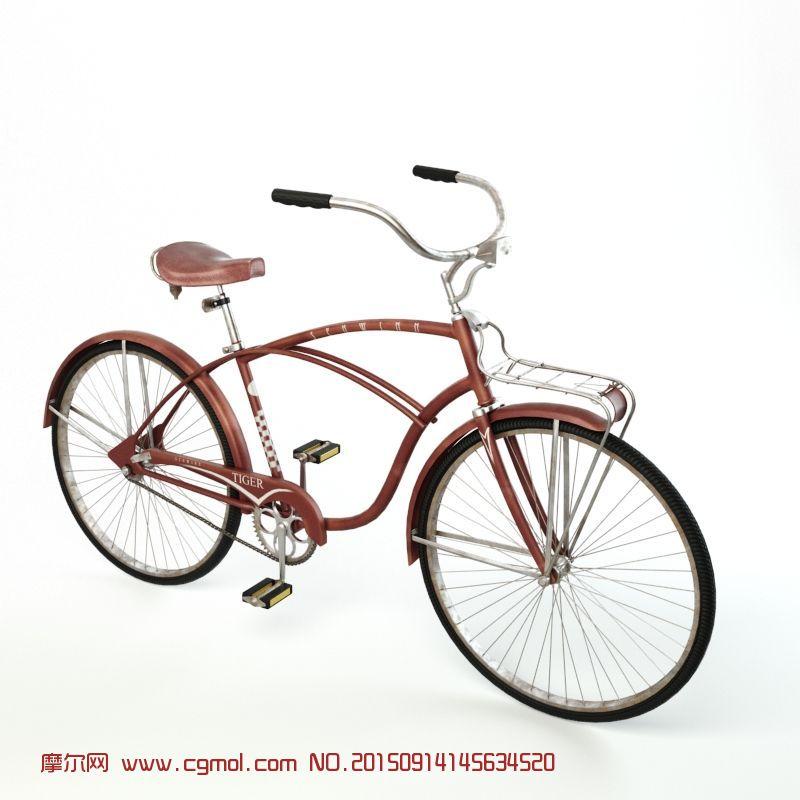 复古老式自行车