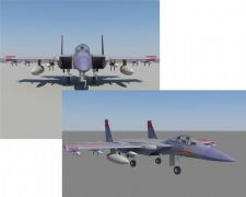 f15战斗机写实