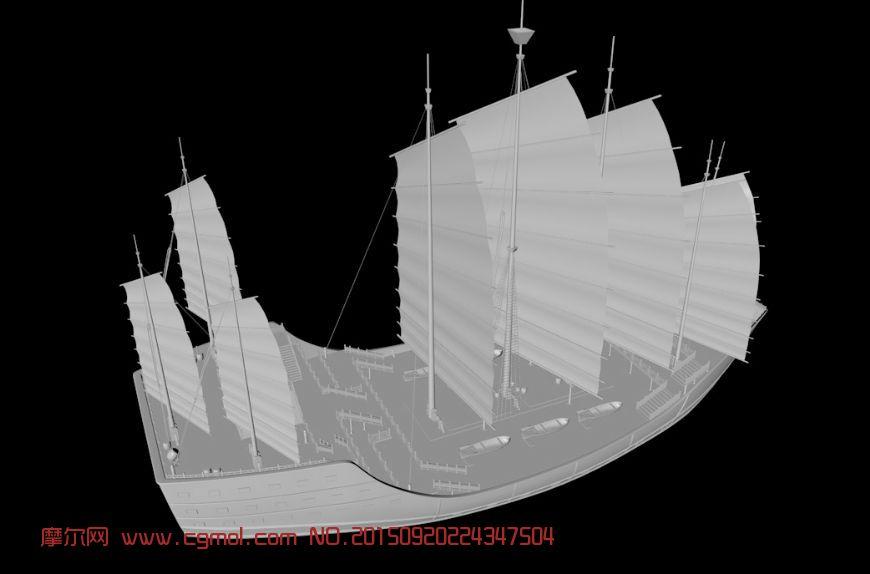 叶片结构立体模型