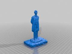 辩手3D打印模型