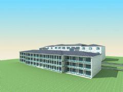 宾馆,酒店模型