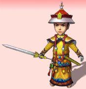 舞剑的小皇帝su模型