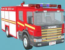 水罐泡沫消防车