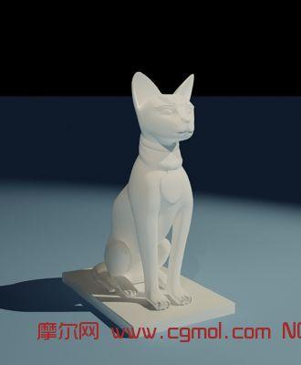 动物模型 其他  标签:埃及雕塑